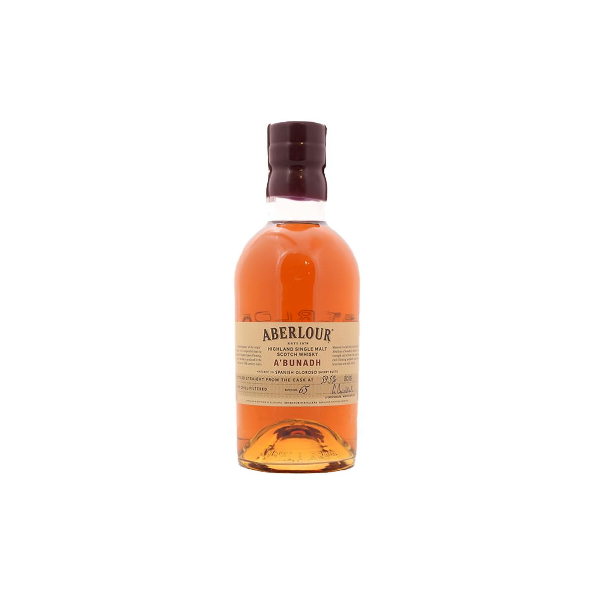 Aberlour A'bunadh Batch No.65 (59.5%) - 30 ml.