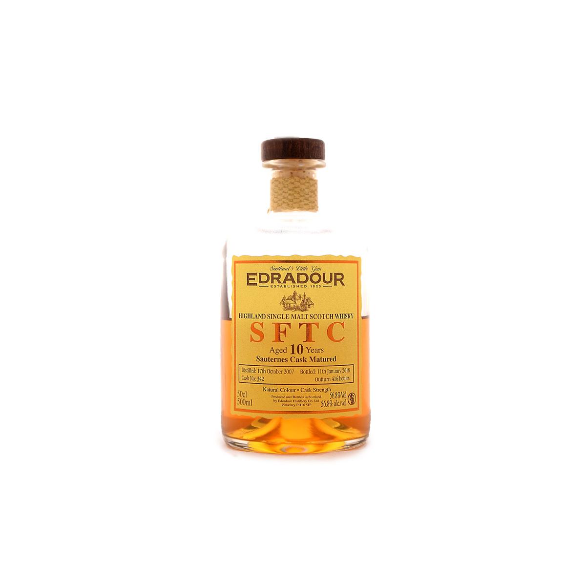 Edradour SFTC Sauternes (56,8%) - 30 ml.