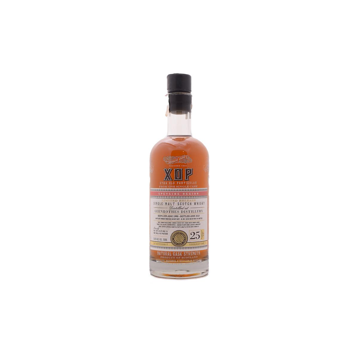 XOP Glenrothes 25 YO (56.6%) - 30 ml.
